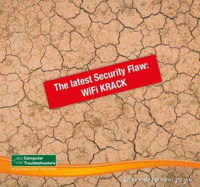 security flaw wifi krack