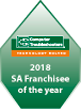 SA franchisee of the year 2018 Hallett Cove