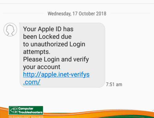 Your Apple ID has been locked