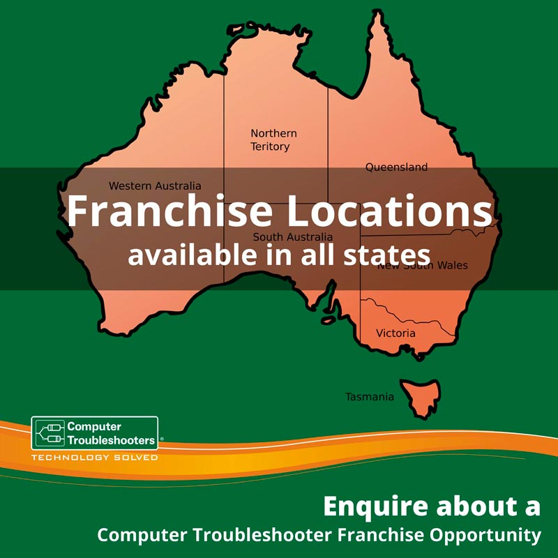 Franchise opportunity in all states in Australia