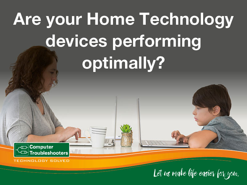 Are your Home technology devices performing optimally?