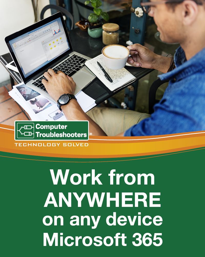 Work from Anywhere on any device Microsoft 365